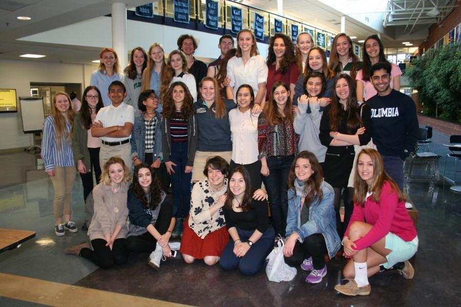 Flint Hill says bienvenue et au revoir to visiting French students