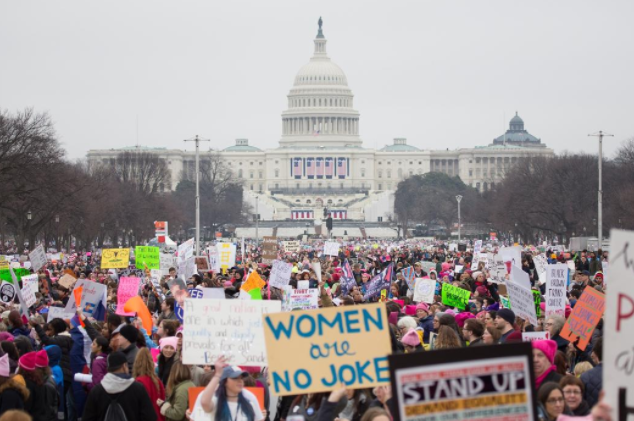 A Flint Hill student's take on the Women's March on Washington
