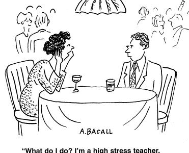 The Stress Effect on Teachers