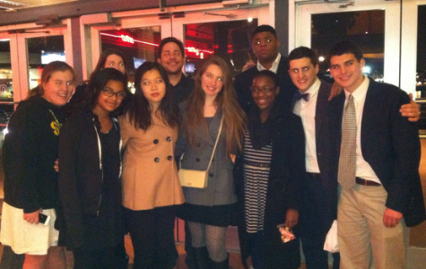 FHS students worked to solve global issues at Model United Nations conference