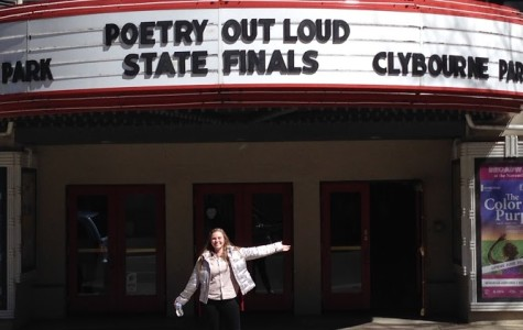 Hailey Scherer wins Northern Virginia Poetry Out Loud regional competition
