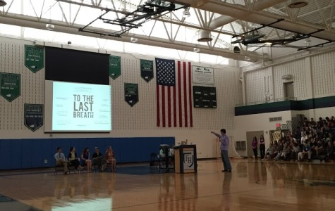Flint Hill honors students, hears from guest speaker at annual Writing Day
