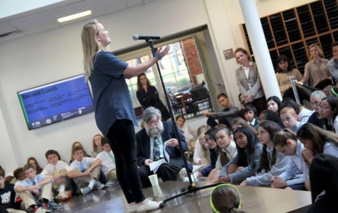 Flint Hill students give a voice to poetry