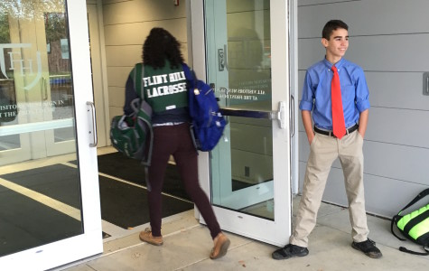 Door-holding boy offers daily dose of compassion to students, faculty