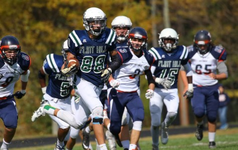 Flint Hill varsity football achieves tremendous victory on Homecoming Day