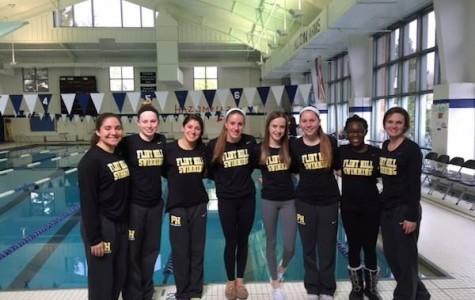 Sophomore girls achieve success on varsity swim team