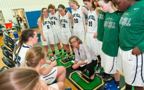 Despite youth, Flint Hill girls varsity basketball team reaches triumph
