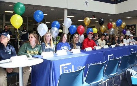 NCAA Signing Ceremony recognizes committed college athletes