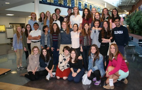 Flint Hill says bienvenue et au revoir to visiting French students