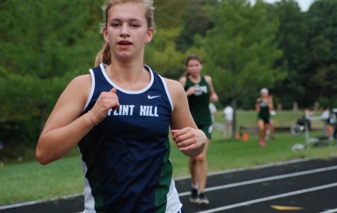 Cross Country team dashes to the finish line