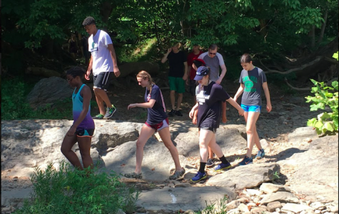 Upper School students adventure together