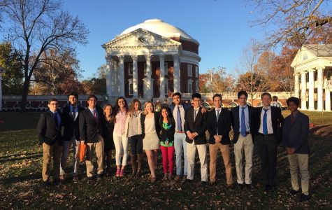 Flint Hill's Model UN takes on UVA