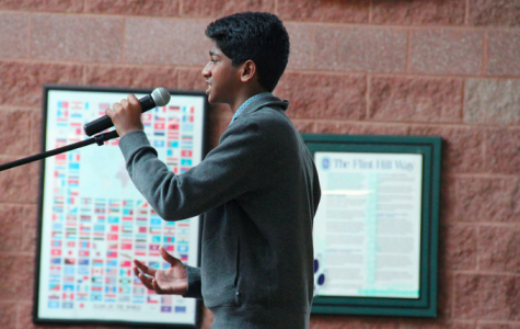 Students commit to excellence at Poetry Out Loud
