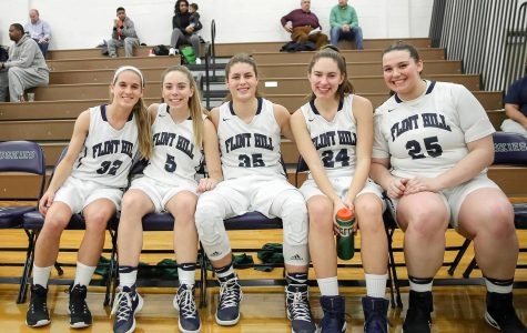 Girls Varsity Basketball team triumphs over archrivals