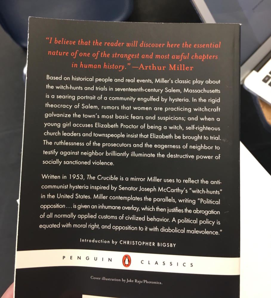 the destructive nature of fear and suspicion in arthur millers the crucible One theme is that fear and suspicion are infectious and can turn into hysteria miller also touches upon the destructive power of guilt, revenge, and the failure of a judicial system fueled by ideology instead of justice.