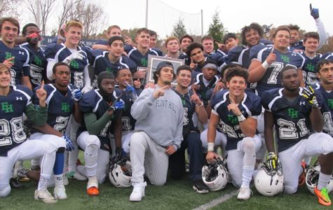 Flint Hill's football team wins state championship