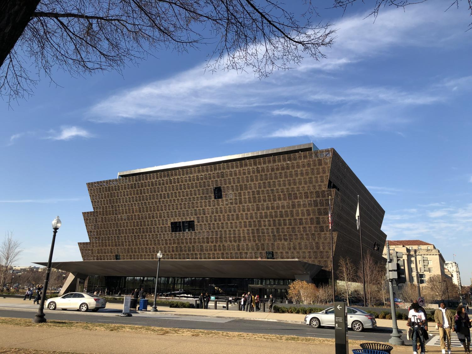 The National Museum of African American History and Culture was built with an interesting design to highlight the unique nature of the museum.