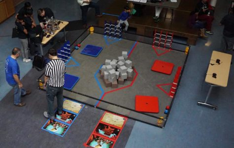 Flint Hill Hosts Preliminary Robotics Competition
