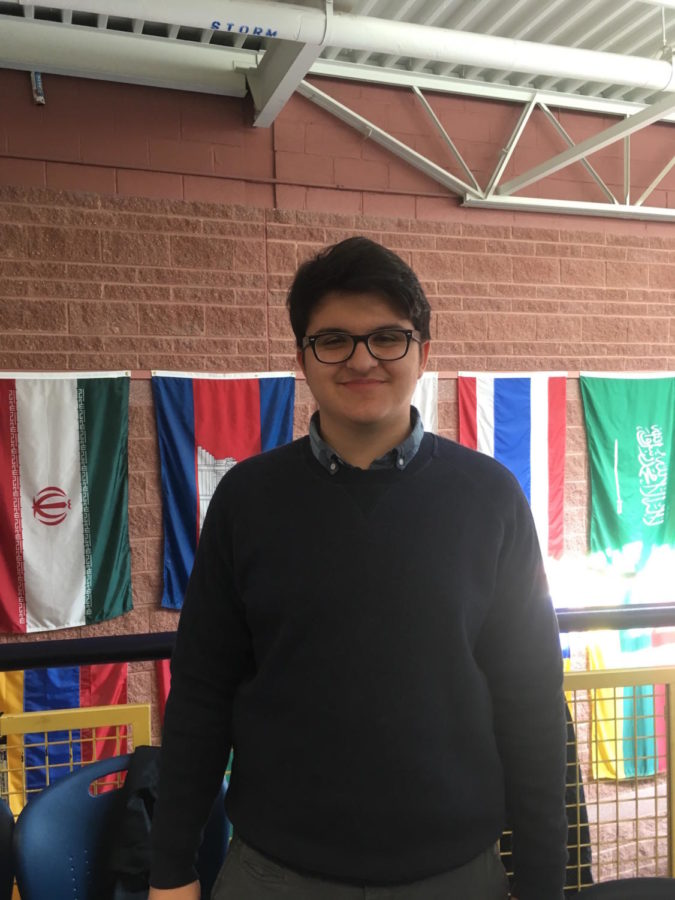 Selim Aksu eagerly poses for a picture during First Lunch.