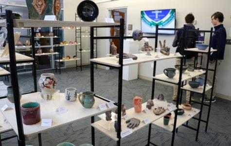 Upper School visual arts show displays wide range of student talent