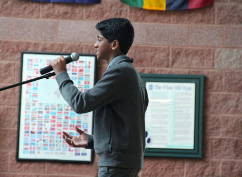 Students perform in first Open Mic of the year