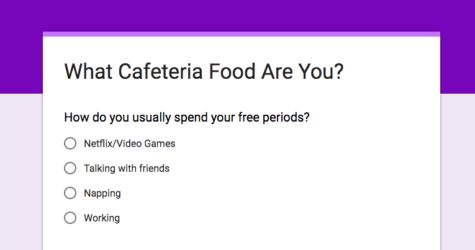 What Cafeteria Food Are You?