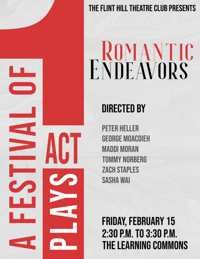 Romantic Endeavors One Act Plays Captivate Audience