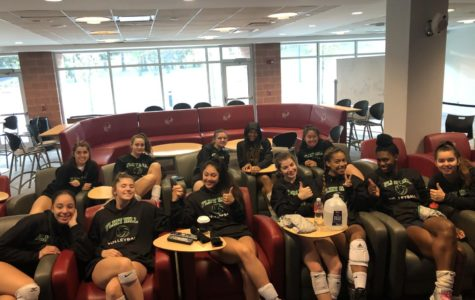 Varsity Volleyball Competes in the Garden State!