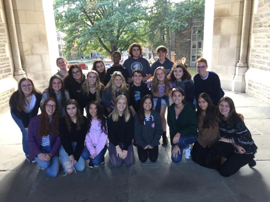Major Minors Tour at Princeton!
